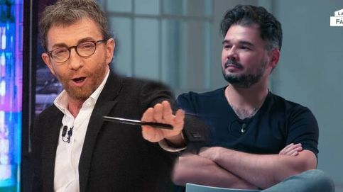 Los inesperados dardos de Rufián y 'Soy una pringada' contra Pablo Motos