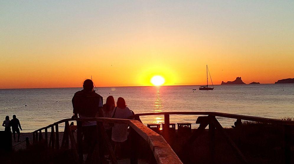 Foto: Vista del Beso Beach, en Formentera. (DR)