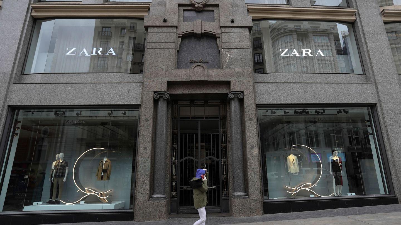 Inditex cerró sus tiendas de Gran Vía a comienzos de este año. (EFE)