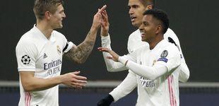 Post de El Real Madrid liquida al Inter cuidando la pelota, como le gustaba a Maradona (0-2)