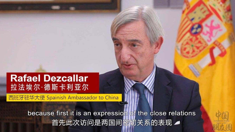 El embajador en China se incorpora hoy tras llevar de vacaciones desde Navidad