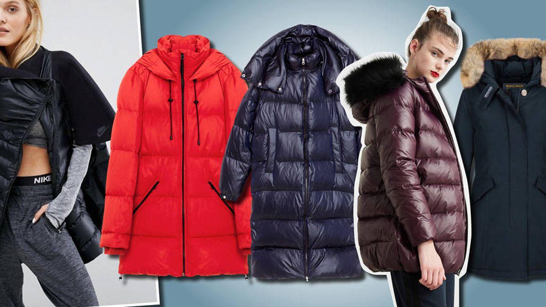invierno otoño de Moda para abrigos plumas Los mejores superar 5pgSx6g