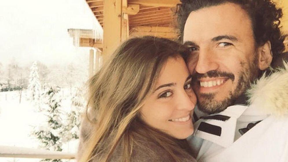 Foto: Gabriela Palatchi y Ediz Elhalef, en una imagen de Instagram.
