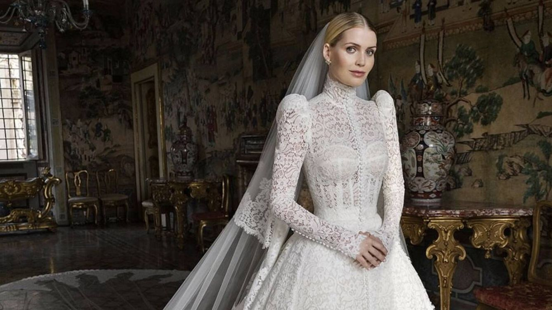 Los cinco vestidos de novia de Lady Kitty Spencer