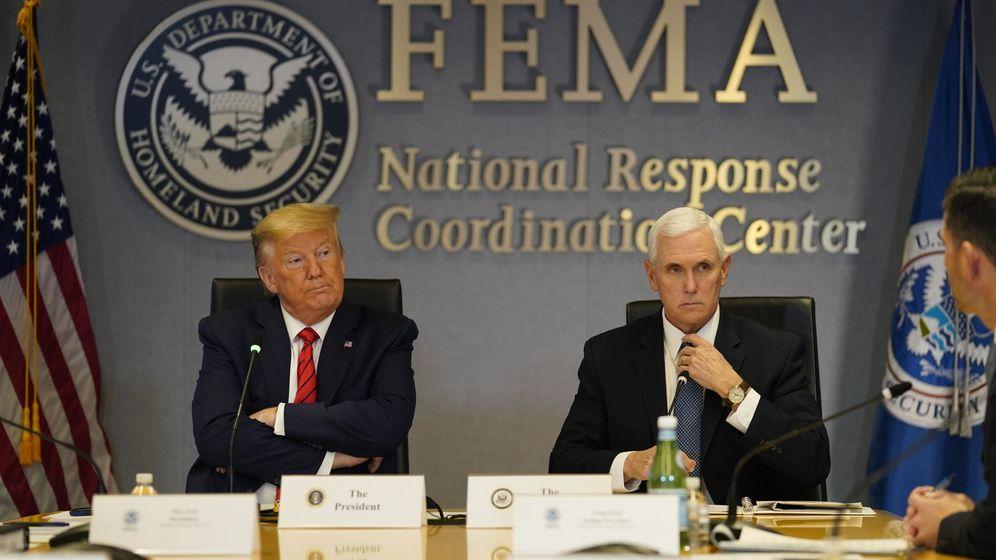 Foto: Donald Trump y el vicepresidente de EEUU, Mike Pence. (Reuters)