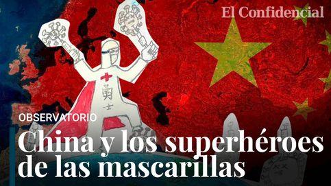 ¿Solidaridad o estrategia diplomática? El relato de los superhéroes chinos con mascarilla
