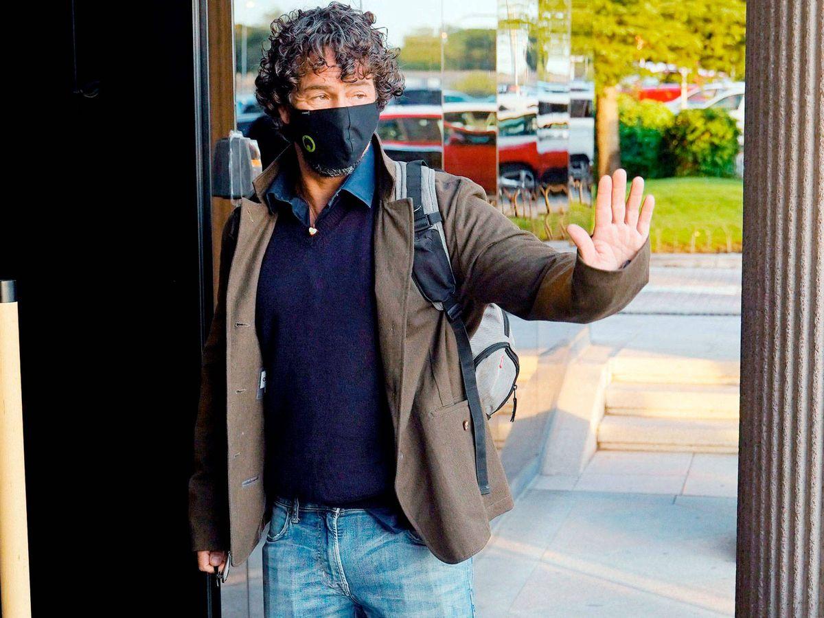 Foto: Nacho Palau, en el juzgado. (Cordon Press)