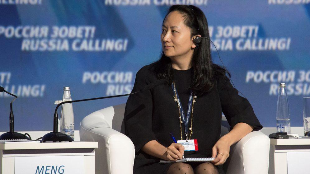 Foto: Meng Wanzhou, directora financiera de Huawei (Reuters)