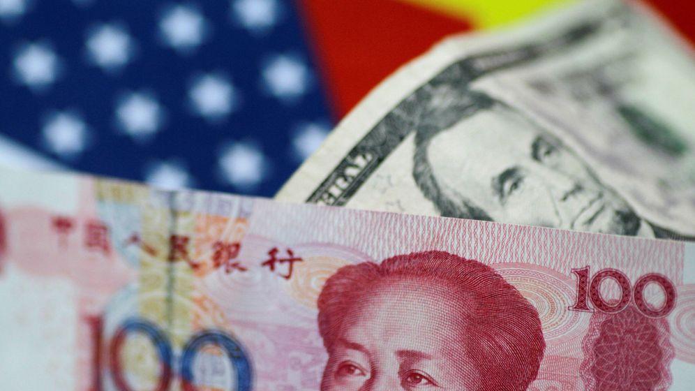 Foto: Montaje de divisas de China y EEUU (Reuters)