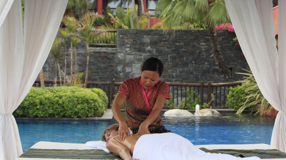 Foto: El masaje tailandés combina técnicas de estiramiento, presión y relajación con movimientos de yoga pasivos (Foto: Asia Gardens)