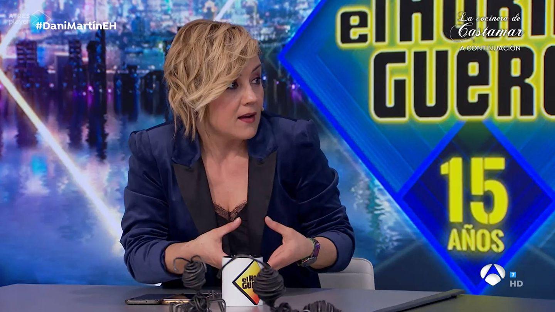 Cristina Pardo, en 'El hormiguero'. (Antena 3)