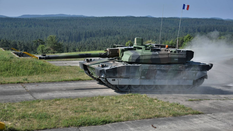 El AMX-56 Leclerc francés (US Army)