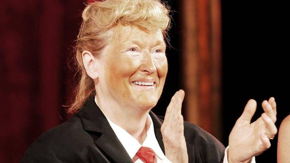 Meryl Streep se mofa de Donald Trump y se hace viral