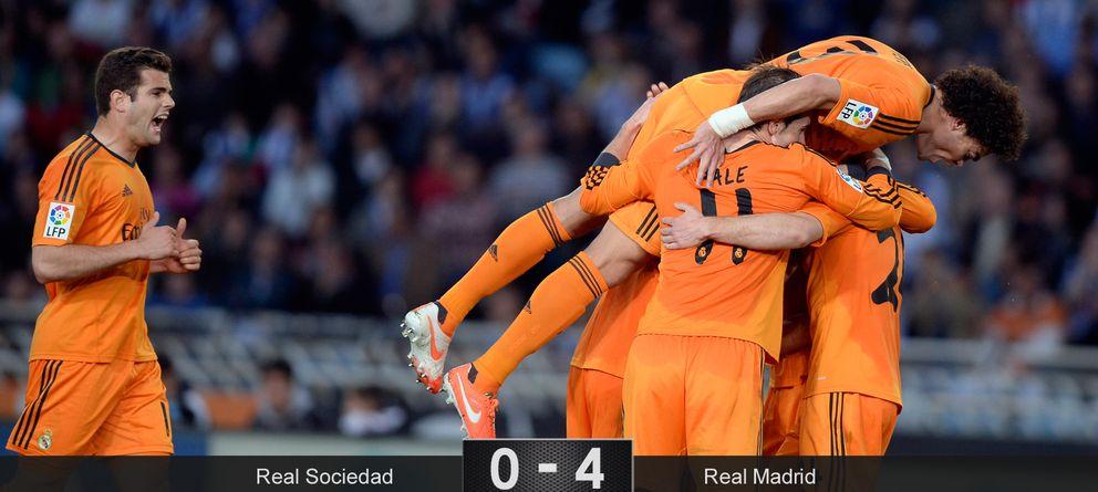 El Real Madrid se agarra a la Liga y lo hace de la mano de Benzema y Bale