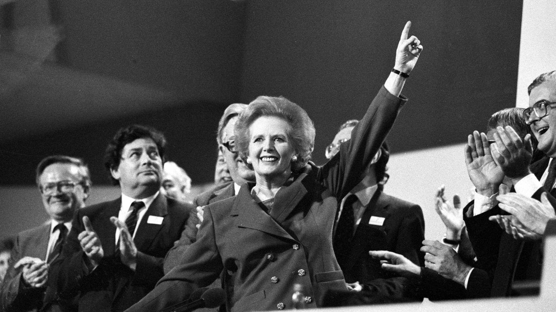 Margaret Thatcher en 1989. (Reuters)
