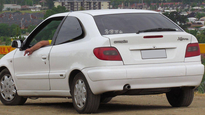 Citroën Xsara de 2003. (Wikipedia)