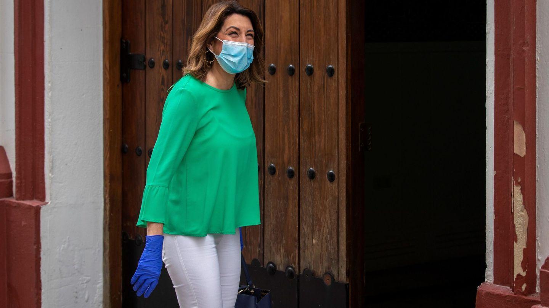 La secretaria general del PSOE de Andalucía, Susana Díaz. (EFE)