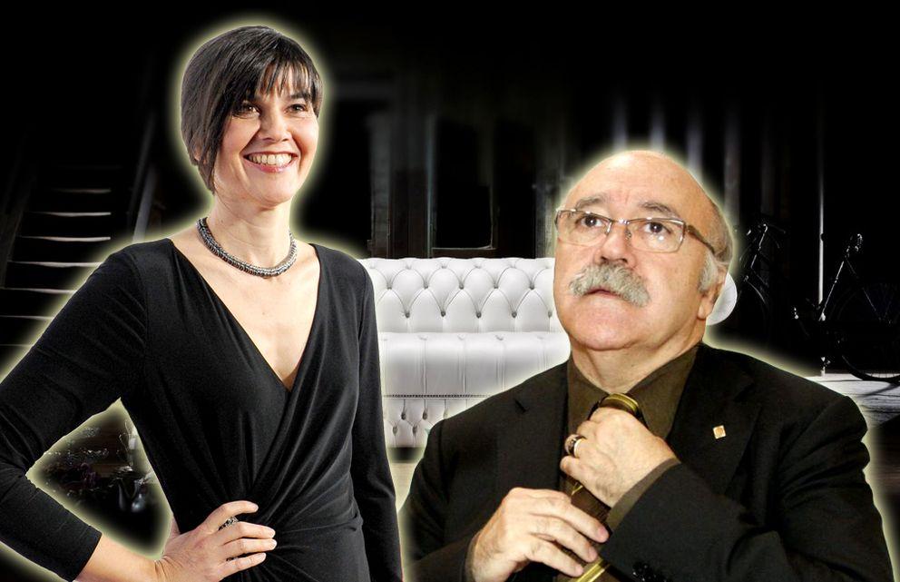 Foto: María Belón y Josep-Lluís Carod-Rovira