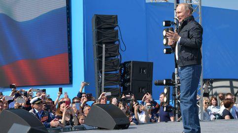 Putin inaugura el puente que une Rusia con Crimea