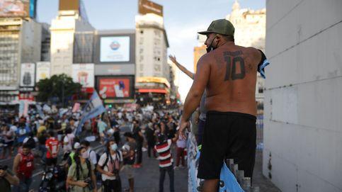 Marcha en Argentina por Maradona: No se murió, lo mataron