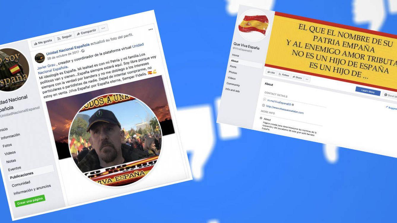 Foto: Algunas de las páginas censuradas por Facebook