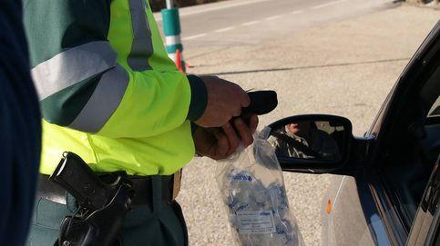 Intenta sobornar a un guardia civil con 100 euros para que no le ponga una multa