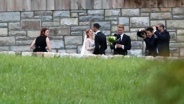 Jennifer Gates wedding