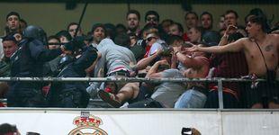 Post de Carga policial contra un grupo de aficionados del Bayern de Múnich