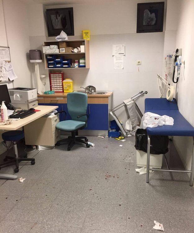 Foto: Así ha quedado el centro de salud de El Casar. (EC)