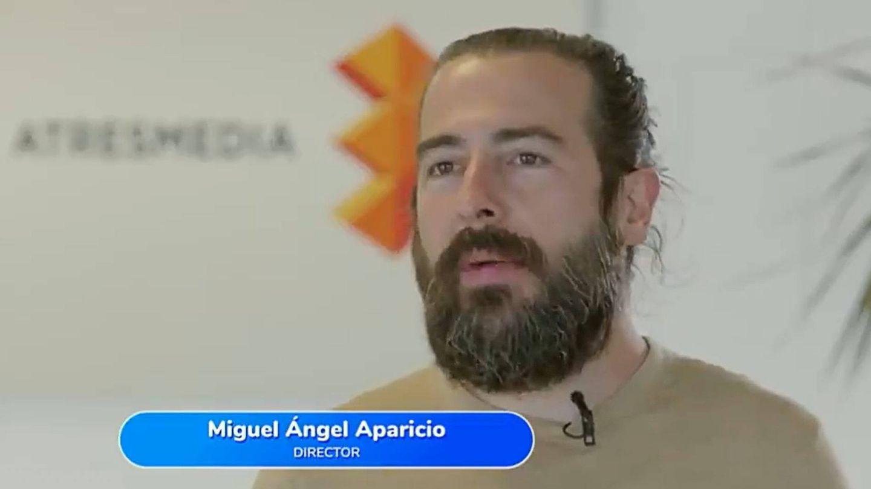 Miguel Ángel Aparicio, director de 'Pasapalabra'. (Atresmedia)