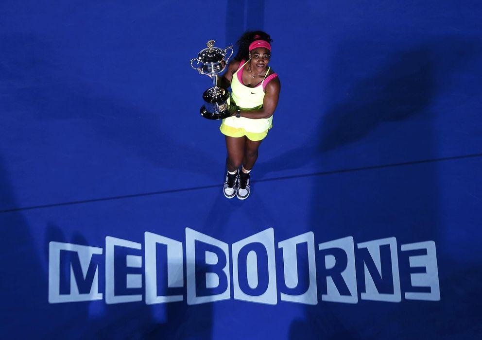 Foto: Es el sexto título de Serena Williams en Australia (EFE)