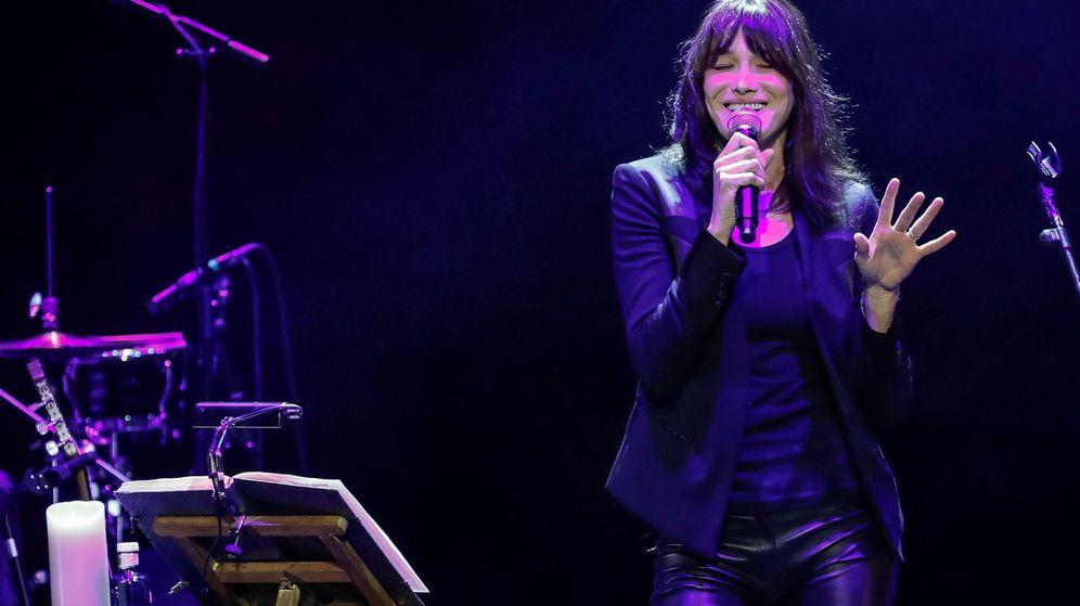 Foto: Concierto de Carla Bruni en Madrid. (EFE)