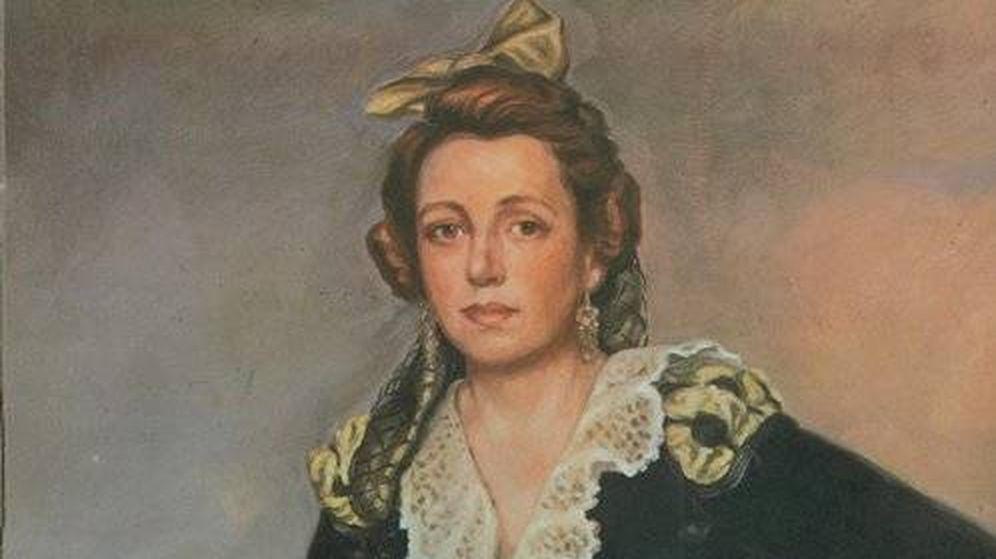 Foto: Manuela Malasaña retratada por José Luis Villar Rodríguez de Castro
