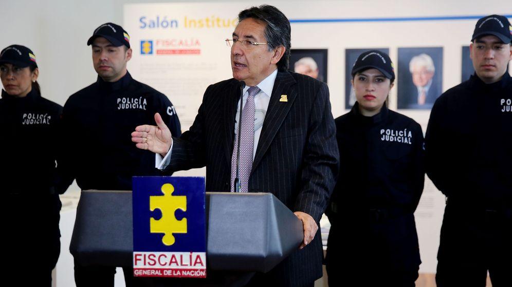 Foto: El fiscal general de Colombia, Néstor Humberto Martínez. (EFE)