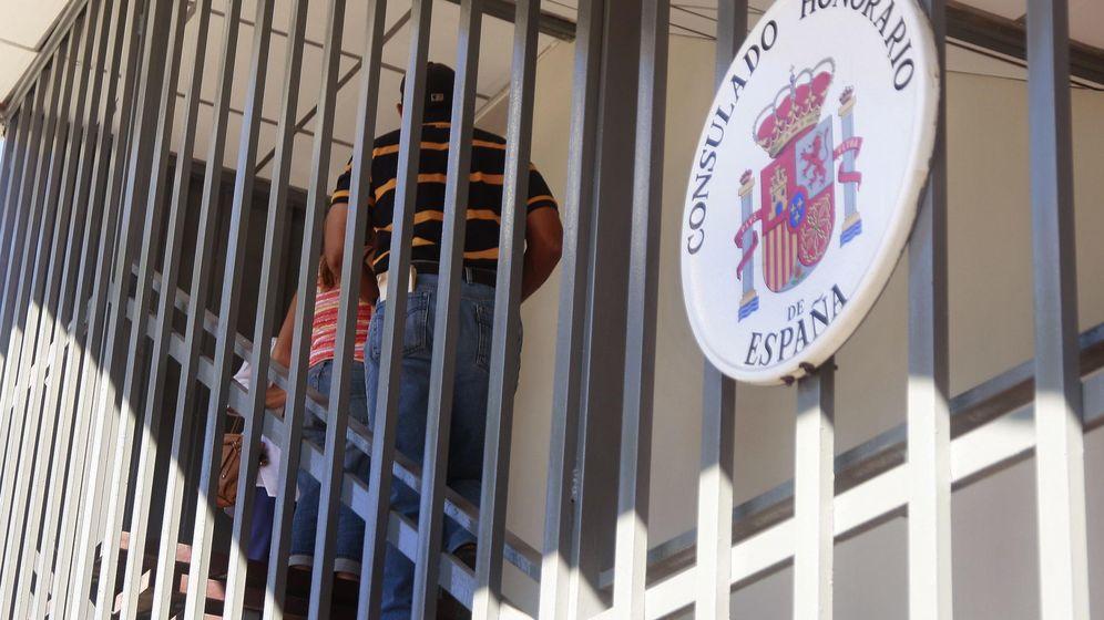 Foto: Vista externa de la sede del consulado honorario de España en Maracaibo, Venezuela, en 2014. (Reuters)