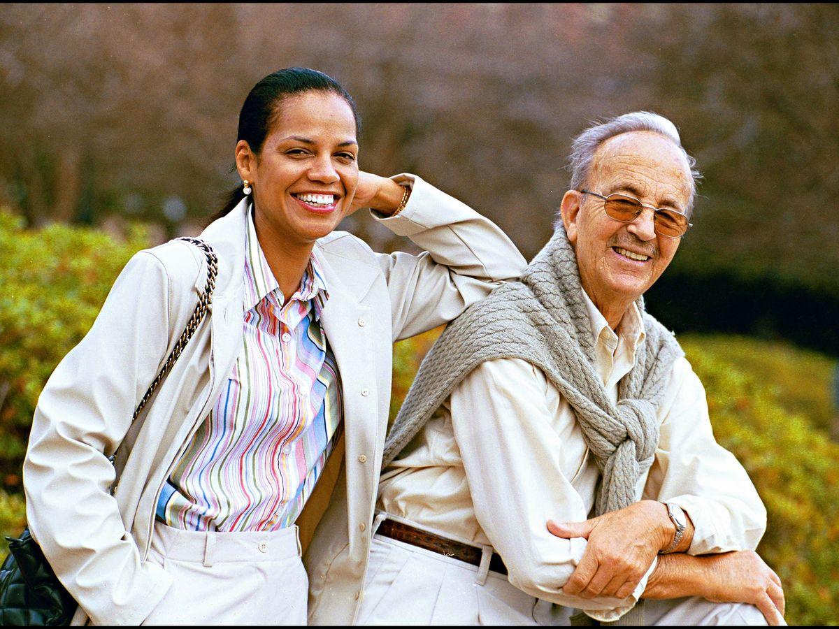 Foto: El doctor Iglesias Puga y su mujer, Ronna Keith. (Gtres)