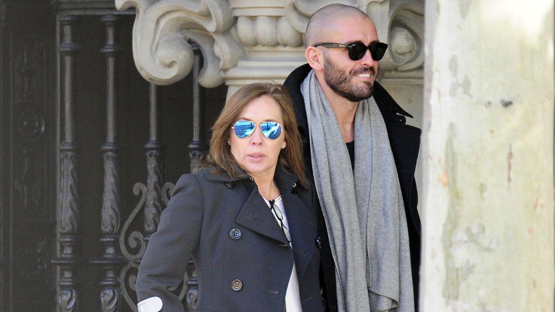 Foto: Jaime de los Santos junto a Elvira Fernández (Gtres)