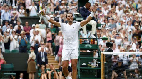 Rafa Nadal arrasa a Joao Sousa y ya está en cuartos de final de Wimbledon