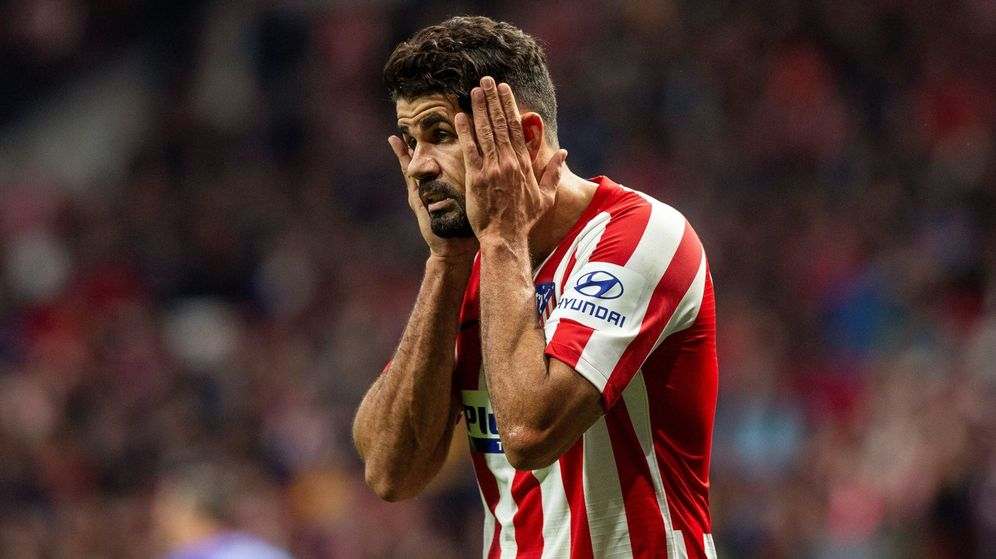 Foto: Diego Costa, este sábado frente al Athletic Club. (EFE)