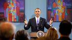 Obama sorprende a los estudiantes de un instituto de EEUU