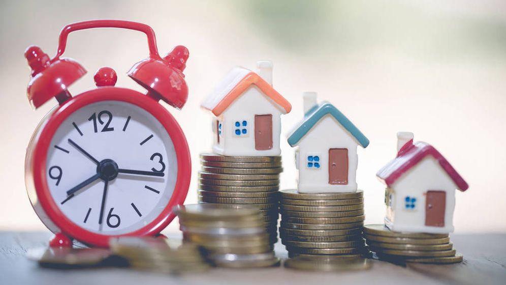 Foto: l precio de la vivienda modera su crecimiento al 3,2% en el primer trimestre, su menor alza en 5 años.
