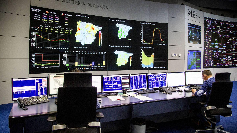 Centro de control eléctrico de Red Eléctrica de España. Foto: REE.