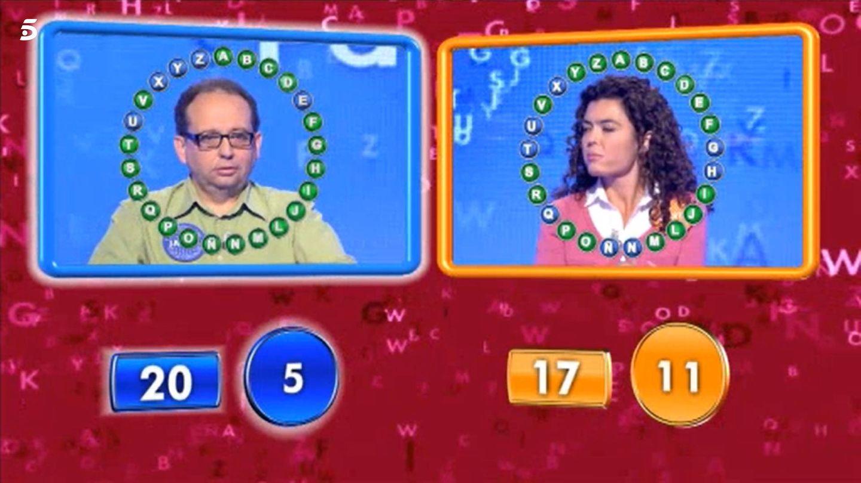 Javier venció a Marta en el segundo programa de esta. (Mediaset)