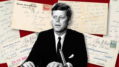 Sale a subasta una carta de John F. Kennedy para una de sus amantes