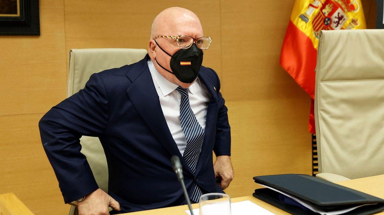 Villarejo dice en el Congreso que se vio con Rajoy en plena operación Kitchen
