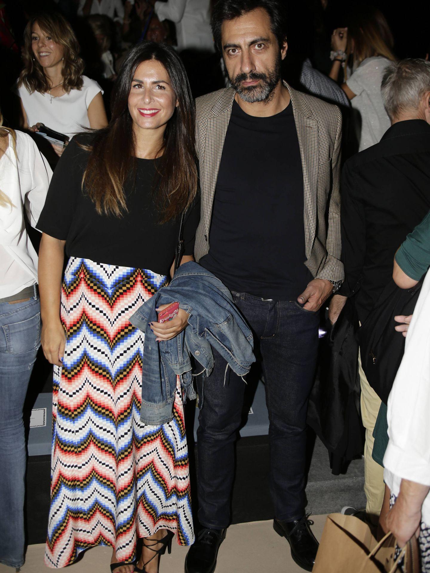 Nuria Roca y su marido, Juan del Val, en una imagen de archivo. (Gtres)