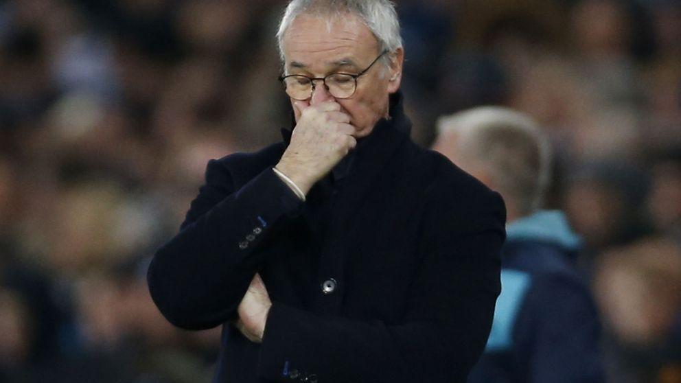 Cuando el éxito te devora: el Leicester se hunde y el vestuario grita contra Ranieri