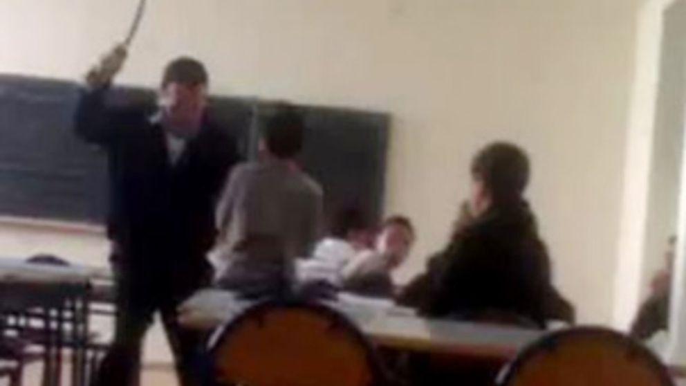 Brutal agresión de un profesor marroquí a un alumno en Melilla