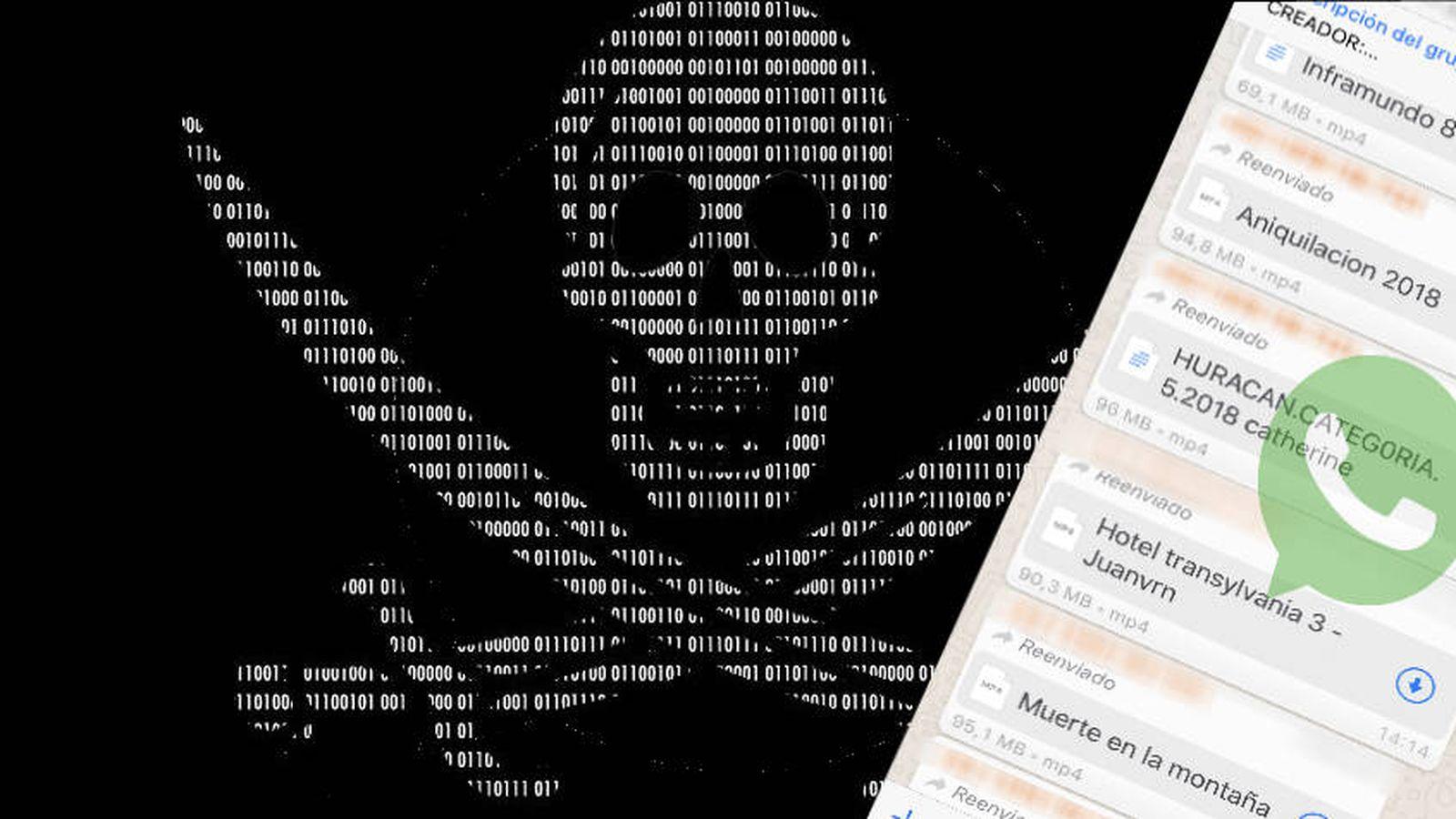 App De Imgenes Porno whatsapp: pelis pirata, porno y virus a cambio de tus datos