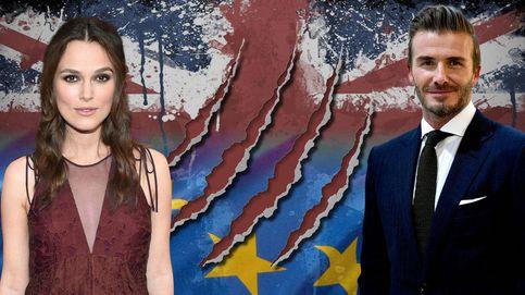 David Beckham, Elizabeth Hurley, Emma Thompson... Los famosos británicos se 'mojan' con el Brexit